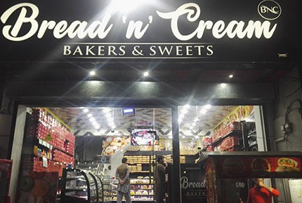 BREAD N CREAM BAKERS & SWEETS ATTOCK