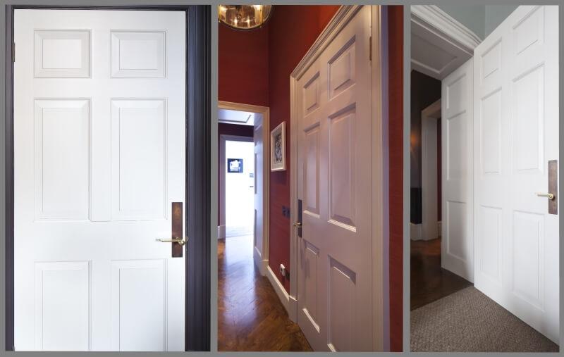 Georgian door examples