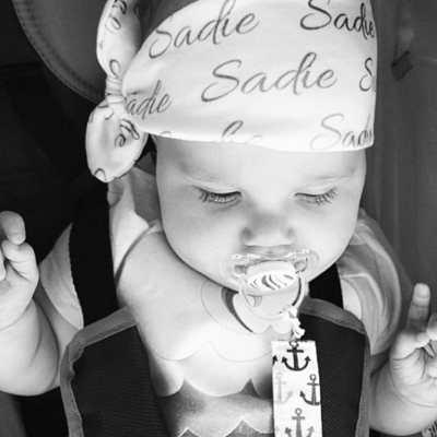Baby Name Headband