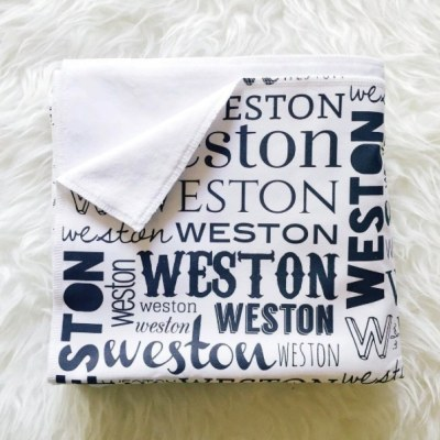 This personalized cuddle name blanket is a soft and comfy blanket that is sure to become a family heirloom. your children will love curling up with it!