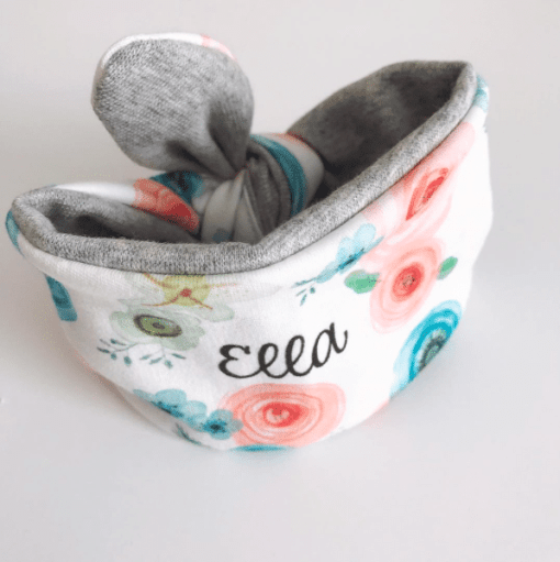 Personalized Flower Headband