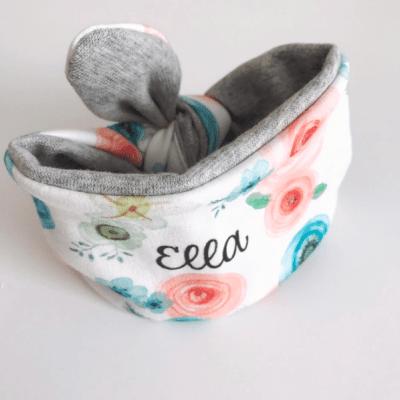 Personalized Flower Headband