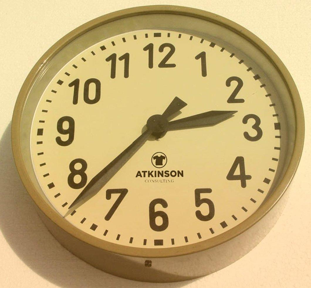 TIME MANAGEMENT CLOCK - MARSHALL ATKINSON