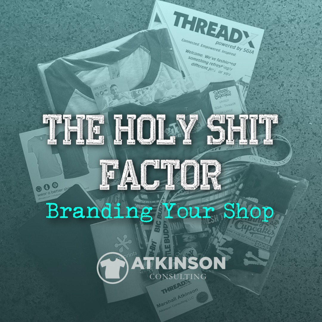 The Holy Shit Factor - Marshall Atkinson