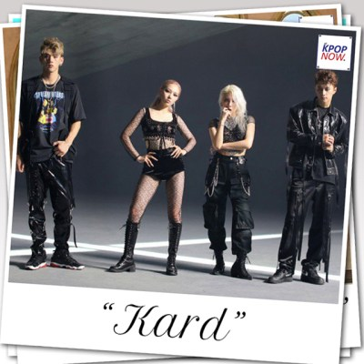 KARD polaroid by AT KPOP NOW