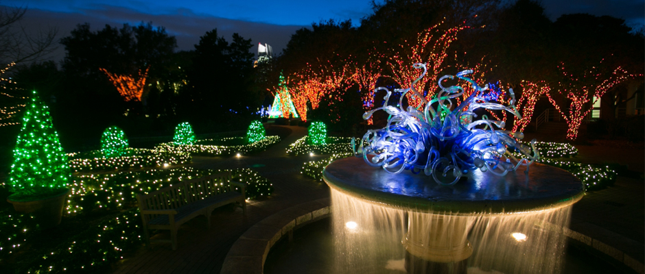 Holiday Lights Atlanta Botanical Garden