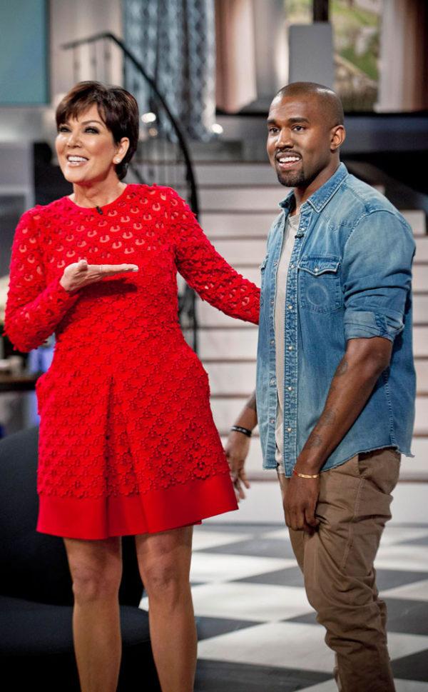 Kanye West makes appearance on Kris Jenner's talk show