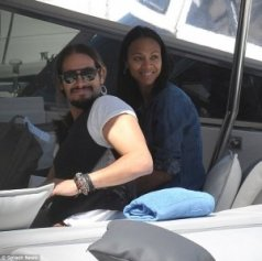 Zoe Saldana married to Marco Perego