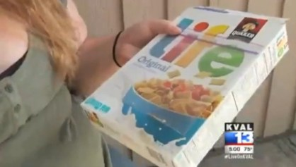 mouse bone found in life cereal