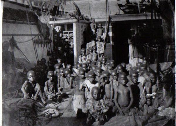 rescued slaves