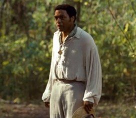 Chiwetel Ejiofor as Solomon Northup in 12 Years a Slave