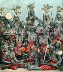 Ahosi or Mino Dahomey Amazons