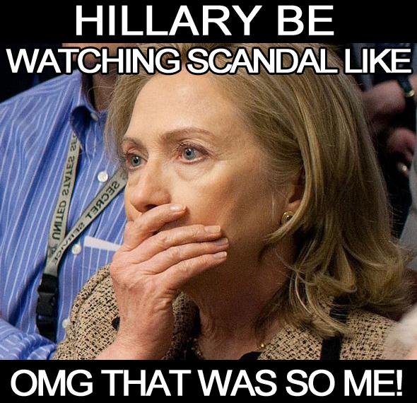 Hillary Clinton Scandal meme