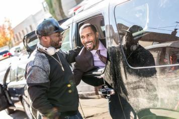 50 Cent and Omari Hardwick. in Power