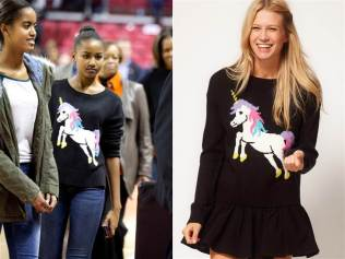Sasha causes Unicorn sweater to sell out on ASOS