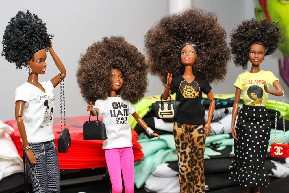 Curly Girl Collective Donates Black Natural Haired Dolls For Holidays
