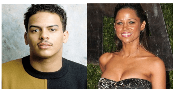 Christopher Williams and Stacey Dash