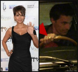 Halle Berry spotted without wedding ring