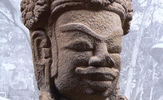 A STATUE OF SHIVA FROM VIETNAM (1)