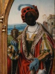 african renaissance king european moors flemish europe kings painting medieval knights paintings moorish runoko rashidi wise saints africans presence saint