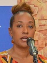 Photo: Pamela Coke-Hamilton, Executive Director of Caribbean Export (Source: Caribbean News Now)
