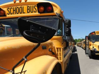 Elementary school students traumatized by racist bus driver