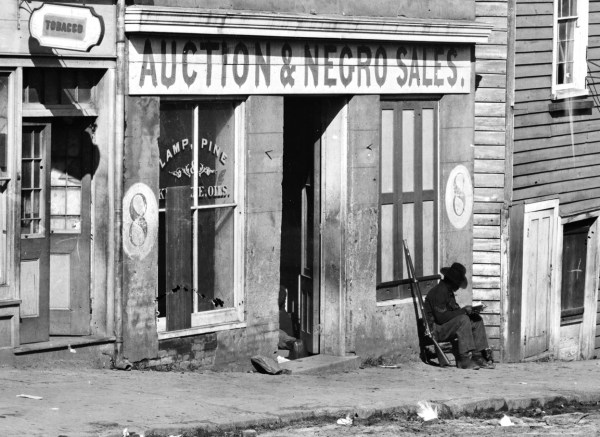 Disturbing Slave Auctions In America