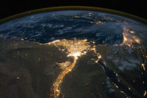 Nile RIver Valley from space