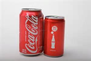 mini can coke, coca cola, soda, coke