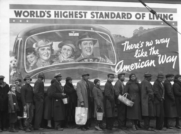 Great Depression Unemployment Line