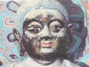 A BLACK BUDDHA FROM EARLY CHINA