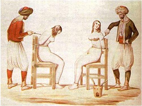 enslaved white women