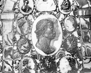 Center piece believed to show the mother of Alessandro de' Medici - Copy