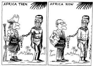 Image result for Africa feeding france