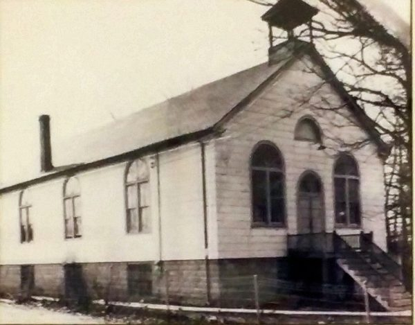 The original St. Joseph Catholic Church. Photo courtesy of stjoseph-largo.org