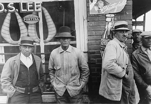 Mound Bayou Residents in Front of Store, Late 1930s. Photo courtesy of BlackPast.org
