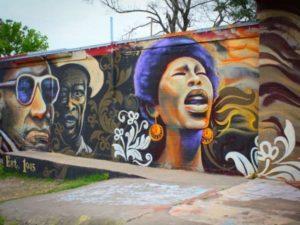 Austin's historically Black East End District. Frank Mills.