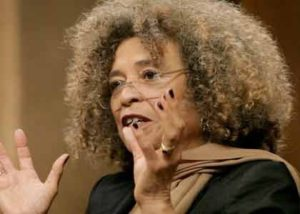 Angela Davis, 2015 (Photo via Baltimore Times Online)