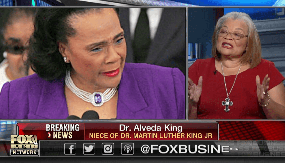 MLKs Niece Says Democrats Shamefully Used Coretta Scott Kings Letter to Divide Americans