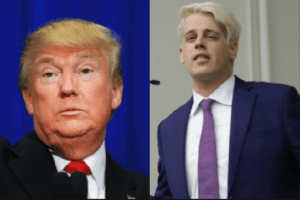 Donald Trump and Milo Yiannopoulos