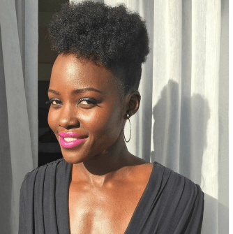 Lupita Nyong'o is always on the forefront of fashion and hair.