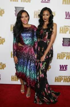 Executive producers and cast members Angela Simmons (left) and Vanessa Simmons (Photo by Tasos Katopodis/Getty Images for WE tv)