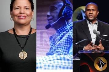 Debra Lee, Russell Simmons, Tavis Smiley