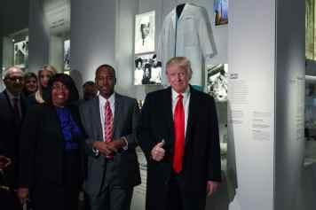 Donald Trump, Ben Carson, Candy Carson