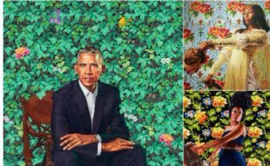 obama portrait artist