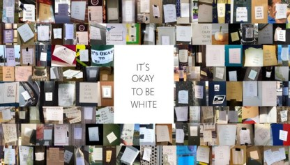 racist white signs