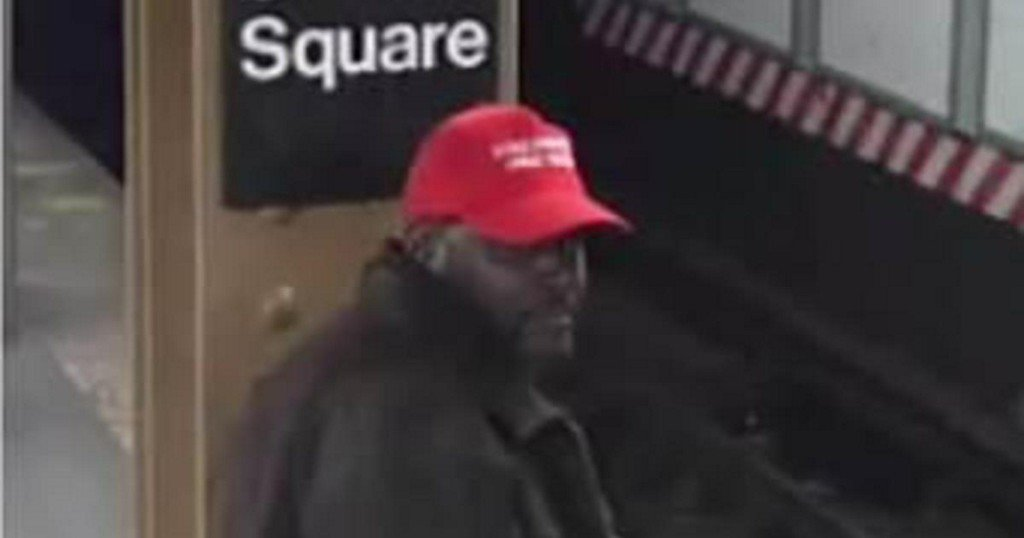 NYC Police on the Hunt for Man Wearing MAGA Hat Who