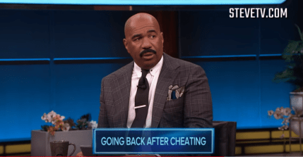 steve harvey cheating
