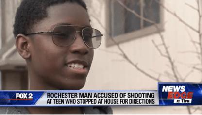 Michigan Teen Shot At