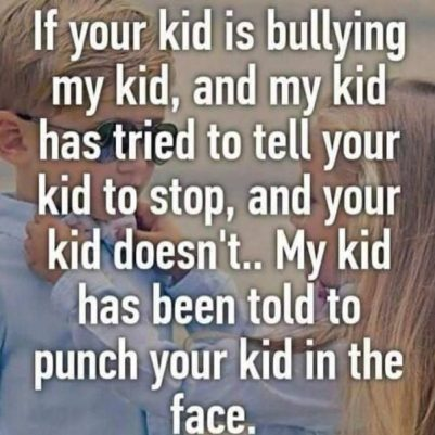 Image result for deal with bullies memes